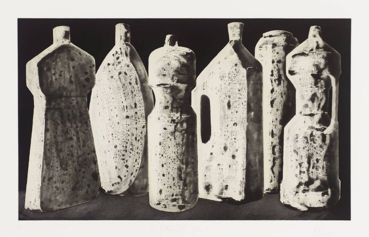 Artist Tony Cragg (born 1949) Title Six Bottles (Large), State 1 Date 1988 Medium Aquatint on paper Dimensions image: 371 x 612 mm