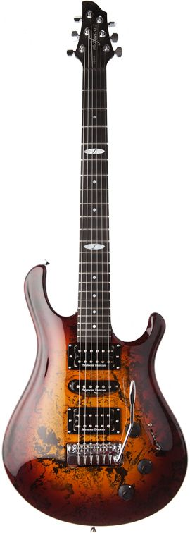Flaxwood Guitars HSH-T Voima Tobaccoburst