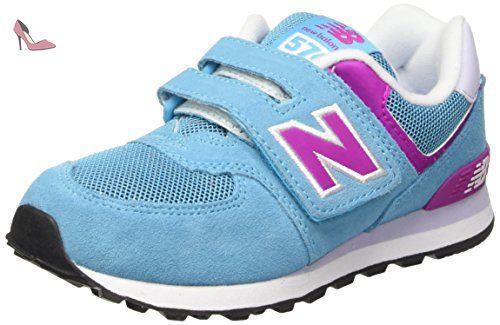 New Balance NBKV574P3P, Chaussures de Marche pour Bébé Bébes, Bleu (Bleue Pink), 30 1/2 EU - Chaussures new balance (*Partner-Link)