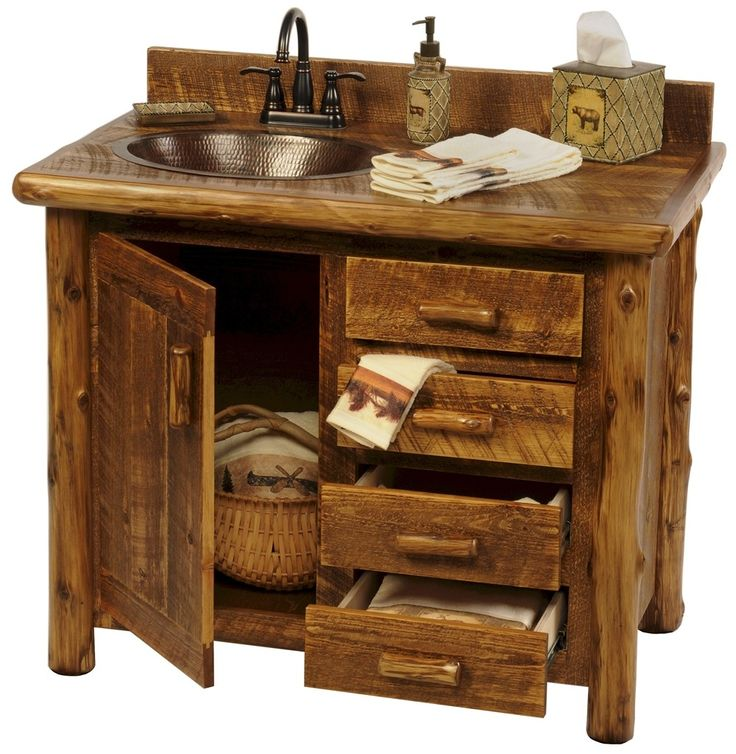 Bathroom Vanity Ideas Pinterest: 25+ Best Rustic Bathroom Vanities Ideas On Pinterest
