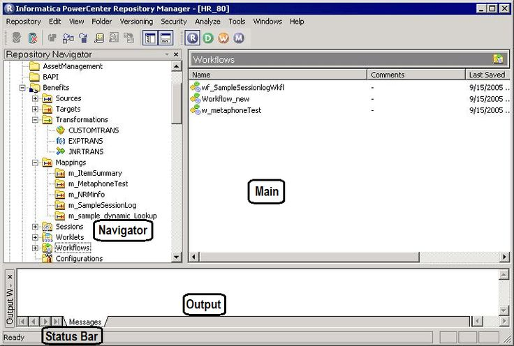 Informatica Repository Manager in PowerCenter Client Informatica - informatica administration sample resume
