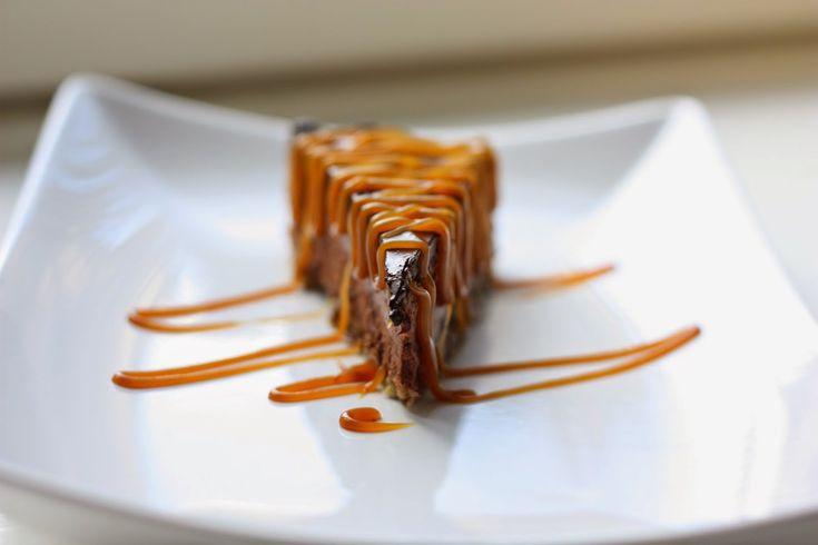 Tarte à la mousse au chocolat végétale, façon cheesecake [vegan]