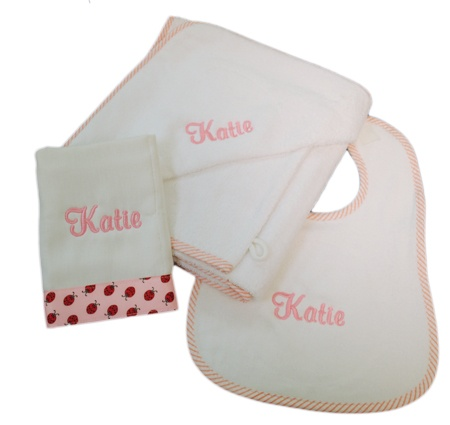 35 best dry off with a personalized towel images on pinterest this high quality baby towel set features a terrycloth hooded towel matching baby bib and burp cloth all beautifully personalized with the babys name negle Images