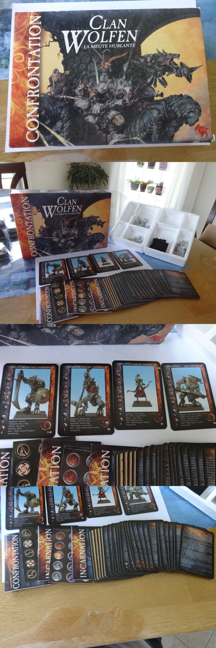 Confrontation 45361: Clan Wolfen The Howling Pack Boxed Set Confrontation Rackham English Oop Nib -> BUY IT NOW ONLY: $98.99 on eBay!