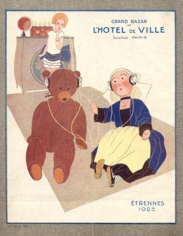 Catalogue Grand Bazar de l'Hotel de Ville. Etrennes 1925. Becassine.