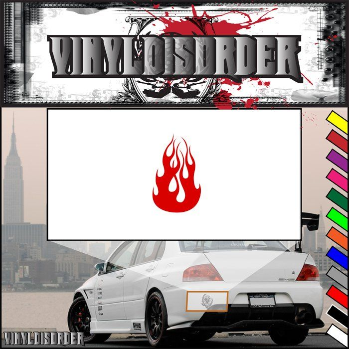 Best Hood Flames Images On Pinterest Vinyl Decals Car - Custom vinyl decals for car hoodsfull color graphic vinyl sticker decal skull ghost fit car hood
