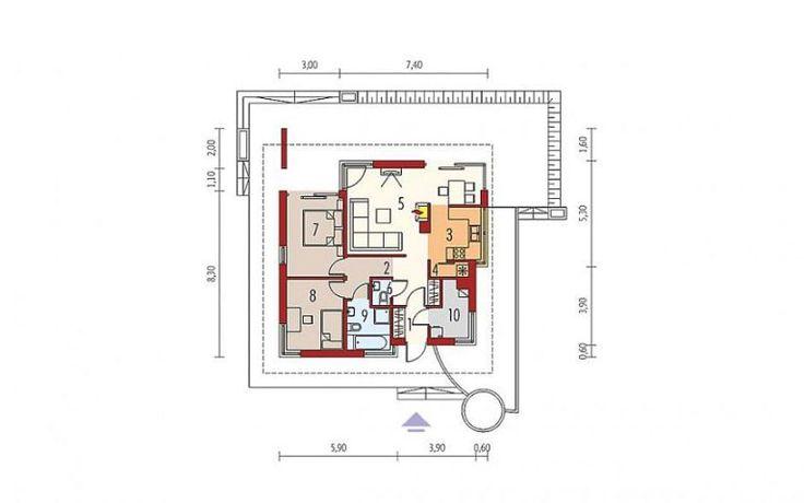 3 case de vis mici sub 100 m2 - proiecte detaliate