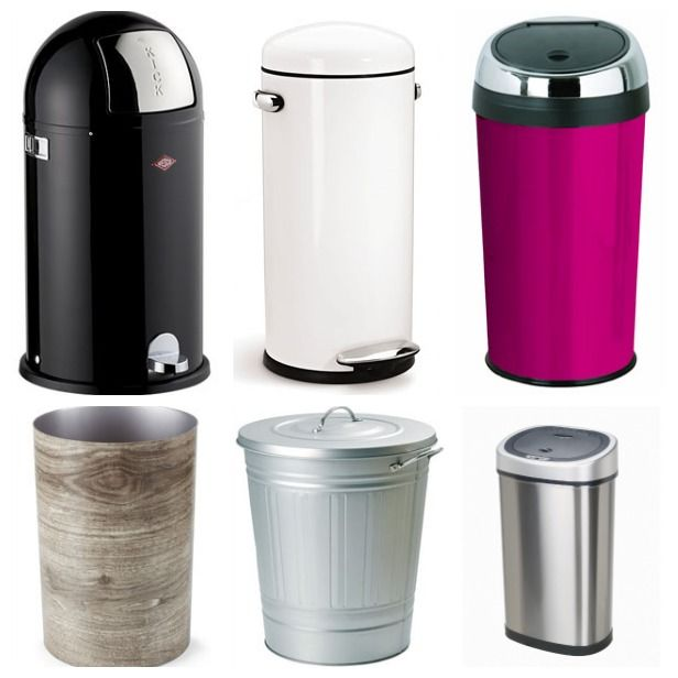 Classy Trash Cans: A Case of the Wants (http://blog.hgtv.com/design/2014/03/13/classy-trash-cans/?soc=pinterest)Classy Trash, Kitchens Design, Interiors Design, Secret House, Homie Yo, Design Inspirtation, House Decor
