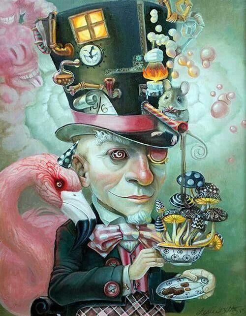 Steampunk chapelier fou