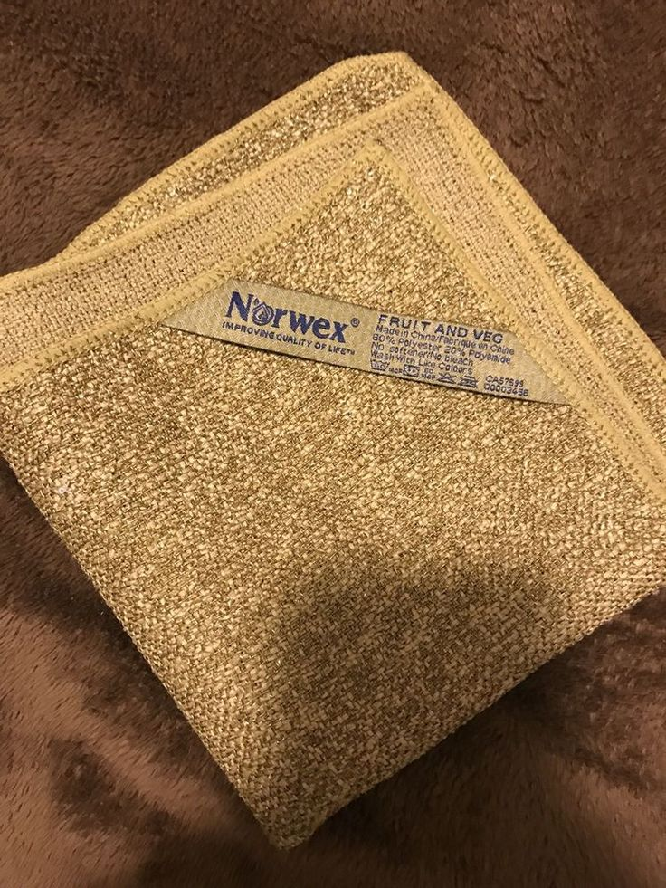 Norwex veggie and fruit scrub cloth cleaner remove pesticides - FREE SHIPPING  | eBay