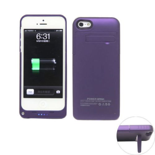 Purple iPhone 5 5s and SE model charging cases available from our online webstore