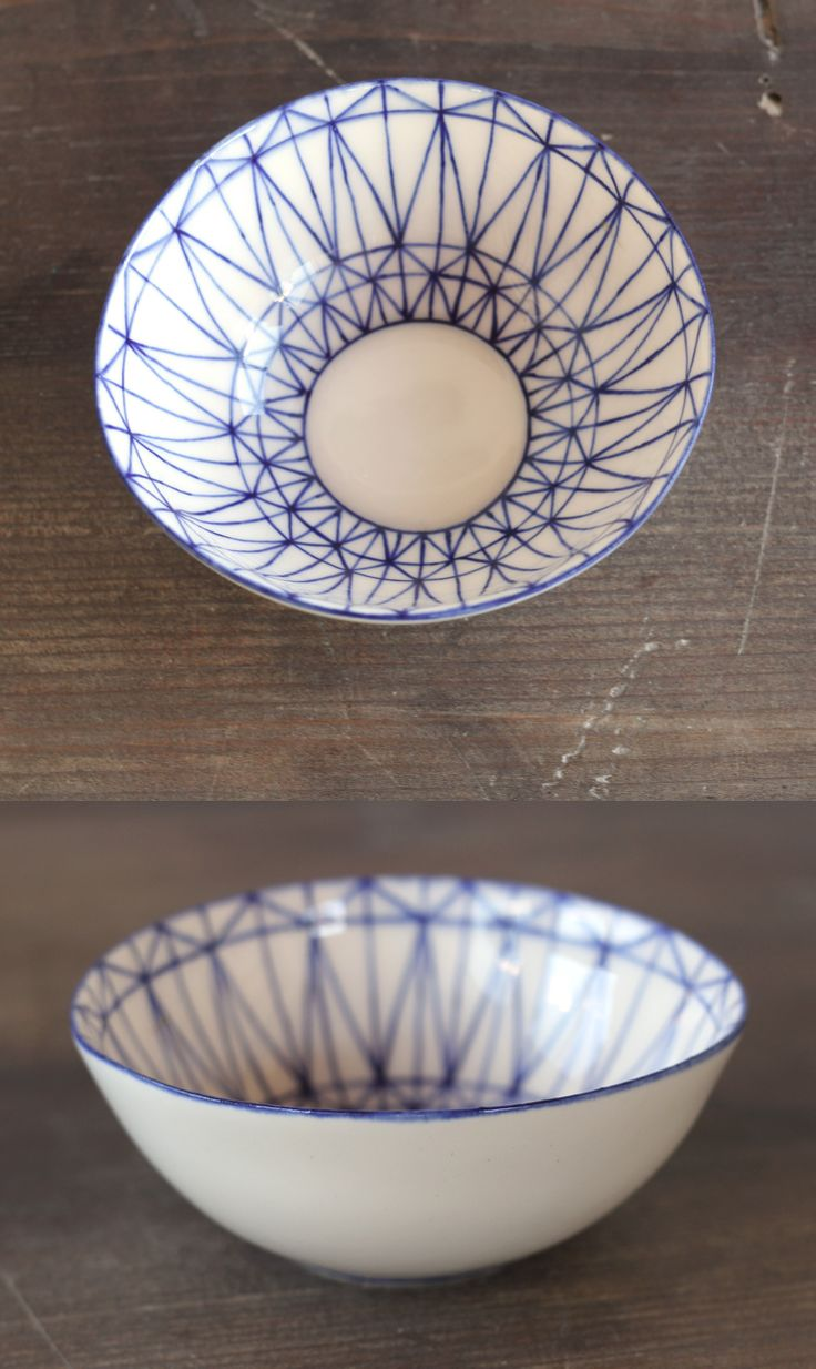 Unique hand-made pottery bowls, by Mădălina Teler