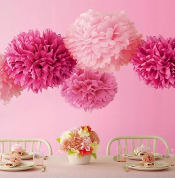 "Cheap party video, Buy Quality party ab directly from China party boat for sale Suppliers: 	Hot selling  4"" (10cm) Wedding Decorative Props Tissue Paper Pompoms Pom Poms Balls Wedding Party Home Decor"