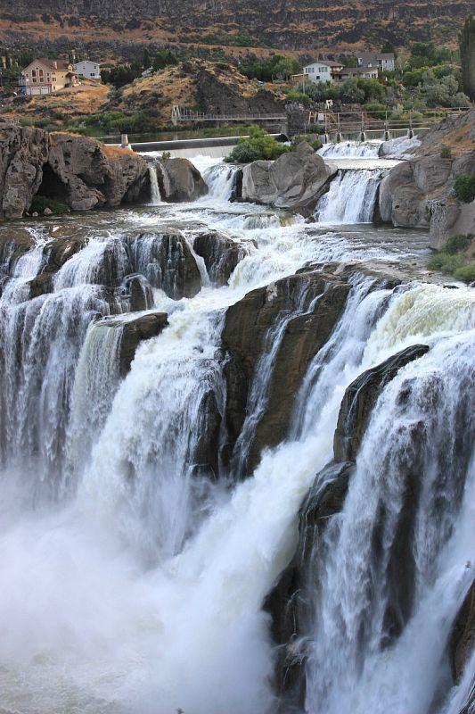 Shoshone Falls, Idaho  the Niagara Falls of the west.