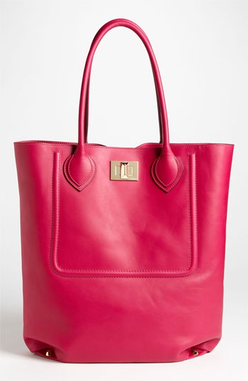 I love this bag! Emilio Pucci Leather Tote available at ...