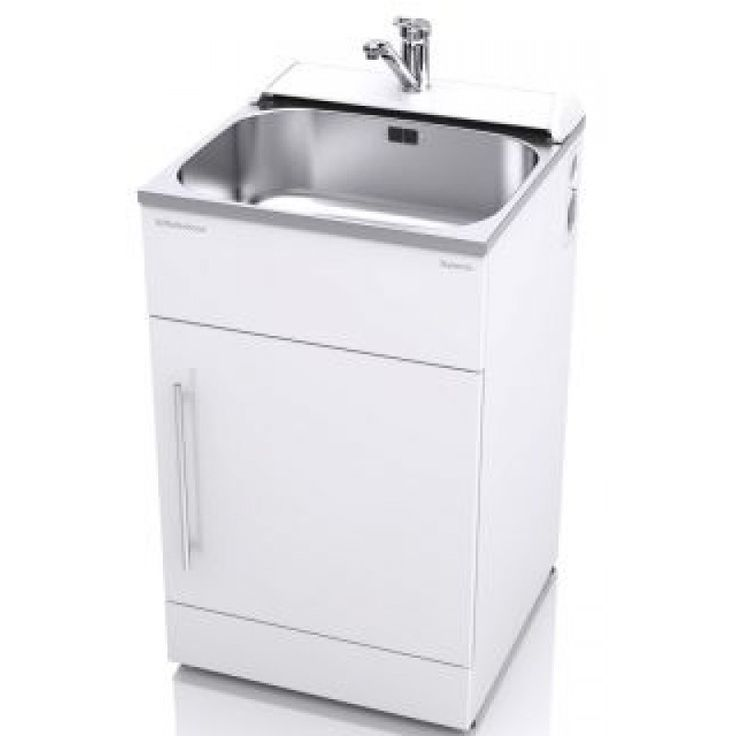 56cm Supertub Classic with Console, All Pressure Tap, Pole Handle ST3701  The ST3701 console model supertub, is a great choice for your laundry and comes with a single-handed mixer tap suitable for all water pressures.  The full width cabinet door now comes with a chrome handle and an extra rigid double layer of powder-coated galvanised steel with a layer of polystyrene in between.   The doors have simple magnetic catches, which are easy to open and close - so no more fiddly clips. The…