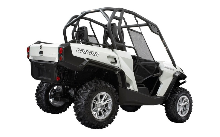 the 2013 can am commander electric side by side vehicle is ready for action news atv trail. Black Bedroom Furniture Sets. Home Design Ideas