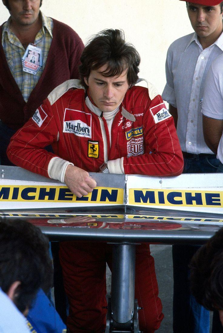Gilles Villeneuve - Ferrari 1978