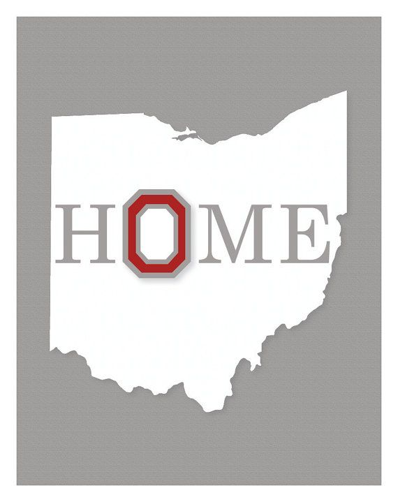 Ohio State University Wall Art By KCScreative On Etsy, $10.00 Part 51