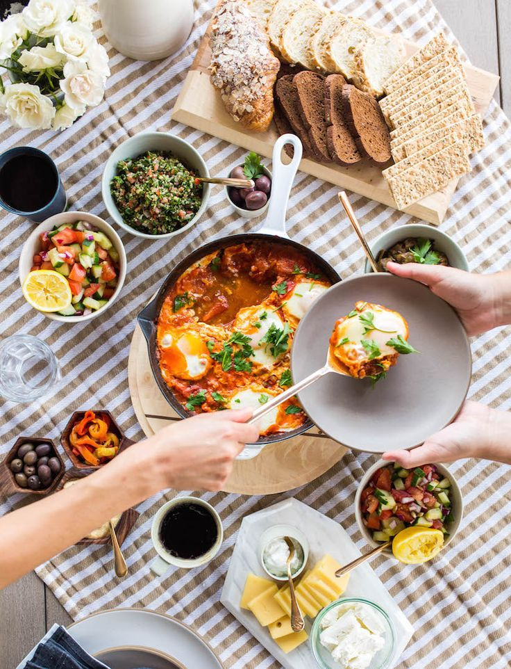 Your guide to hosting a classic Israeli breakfast