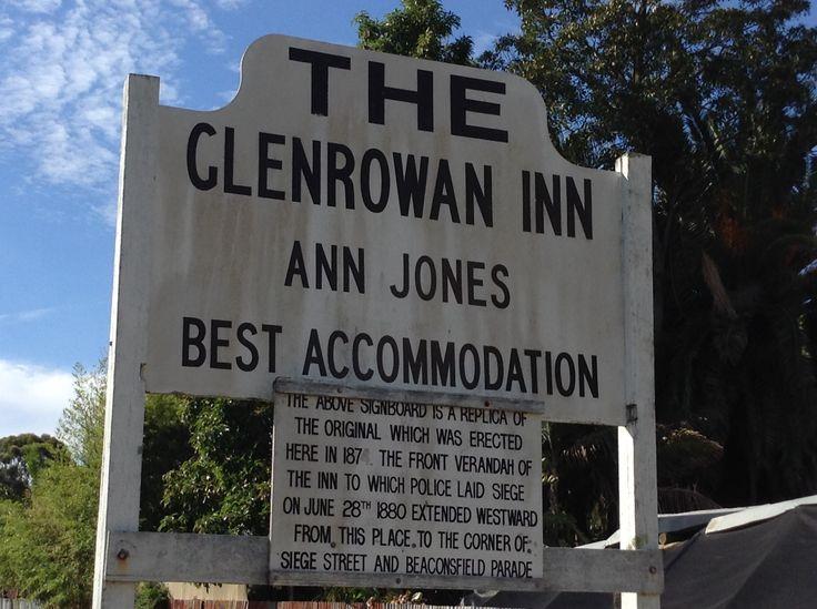 The Glenrowan Seige took place here at the The Glenrowan inn