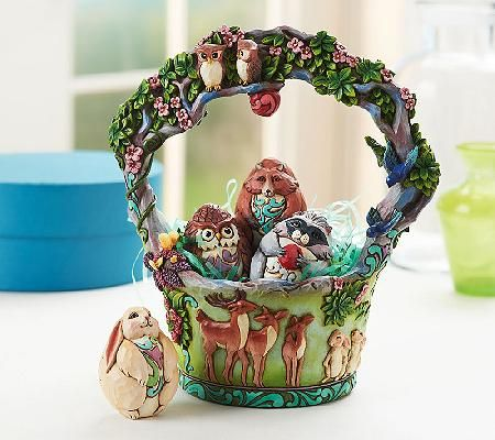 15 best jim shore easter baskets i own images on pinterest easter jim shore heartwood creek 11th annual easter basket figurine negle Image collections