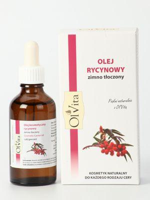 OLVITA 14.90 PLN  Olej pozyskiwany z nasion rącznika pospolitego. Jest to naturalny kosmetyk tłoczony na zimno. Wykorzystywany do celów kosmetycznych jak i leczniczych.