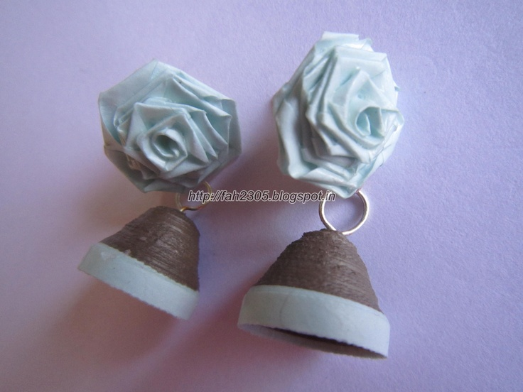 Handmade Jewelry - Paper Quilling Jhumka Product Sale Pinterest Paper quilling, Handmade ...