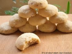 Melting Moments Pistachio Cookies
