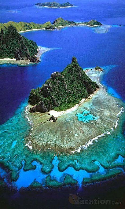 Путешествия beautiful Fiji