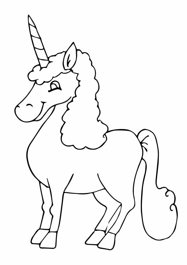 Beautiful Unicorn Head Coloring Page Unicorn Coloring Pages