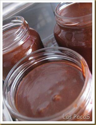 Receta Crema de Cacao (Nutella) (Thermomix) para La Cocina de las PacaS