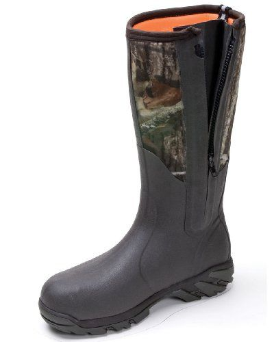 Men's Muck Boots Woody Sport Side - zip Boots, M.O.B.U., 9 - http://authenticboots.com/mens-muck-boots-woody-sport-side-zip-boots-m-o-b-u-9/