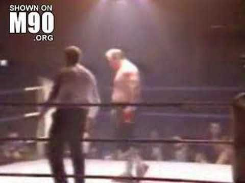 Lenny Mclean unlicensed boxing