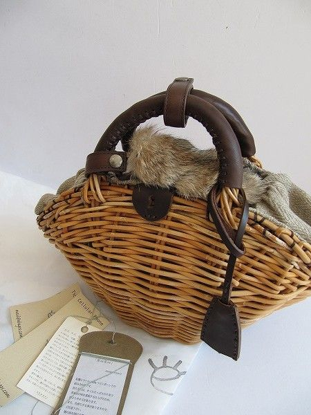 Love the basket but nOT the FUR!!!