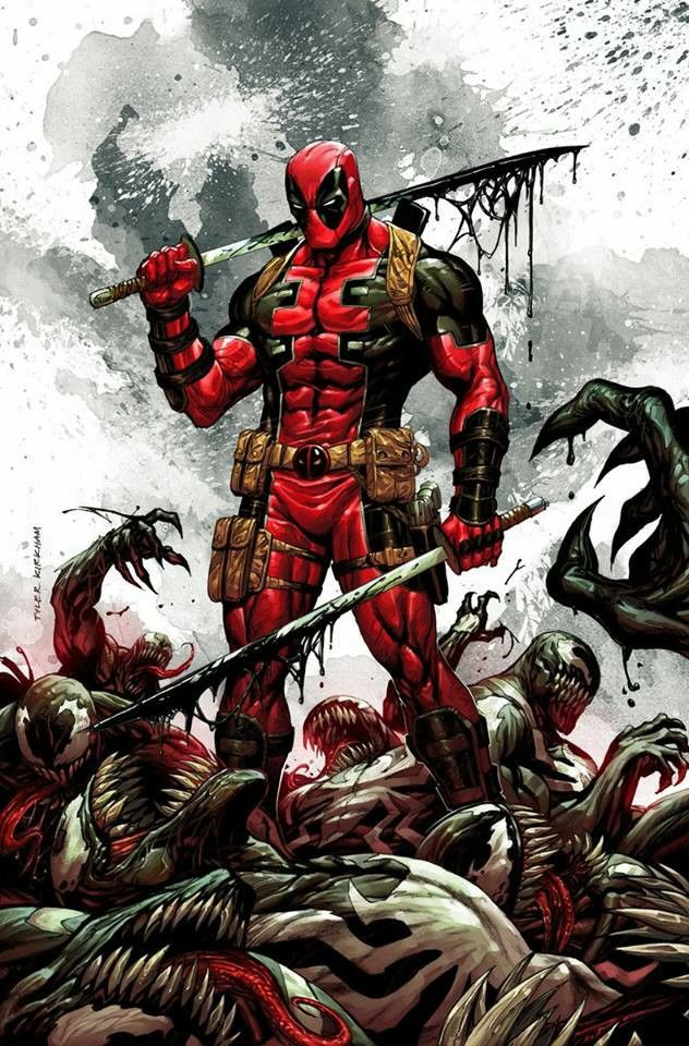 Deadpool by Tyler Kirkham