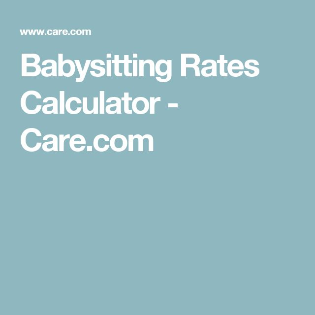 Best 25+ Babysitter rates ideas on Pinterest Part time nanny - babysitting on a resume