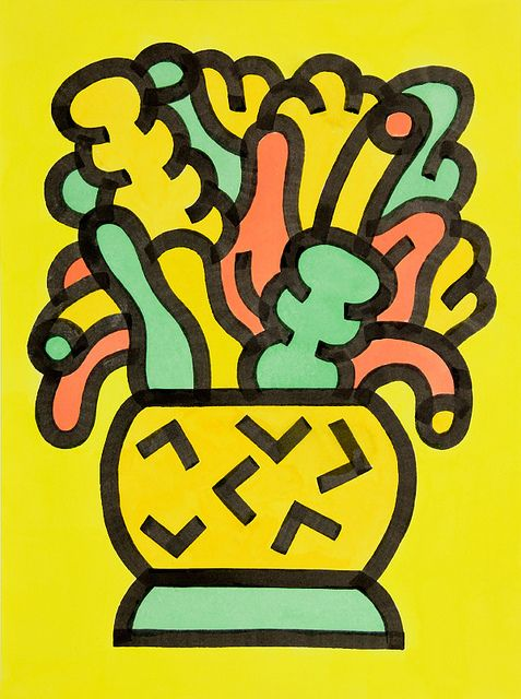 Plant Yellow by Andy Rementer, via Flickr
