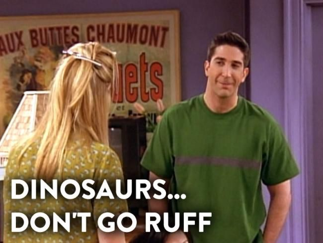11 Things We Learnt from Dr. Ross Geller