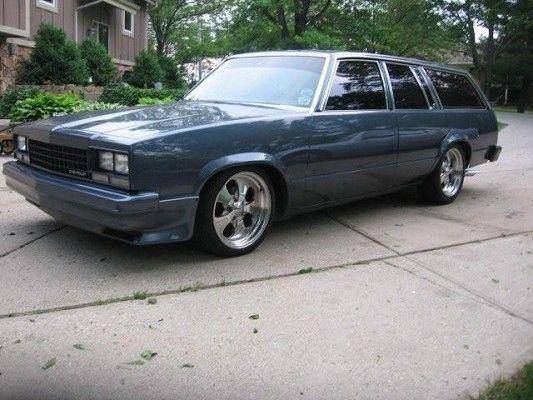 1983 Chevy Malibu .