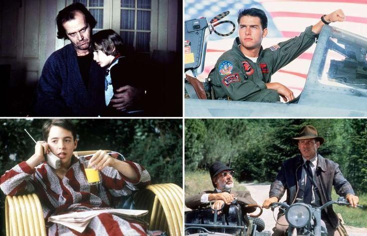 1980s films - Collection/Rex Shutterstock; Paramount/Rex/Shutterstock; Murray Close/Getty Images