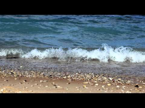 Nature Sounds 2 Hours of Relaxing Sounds of Sea Waves on a Beach - YouTube