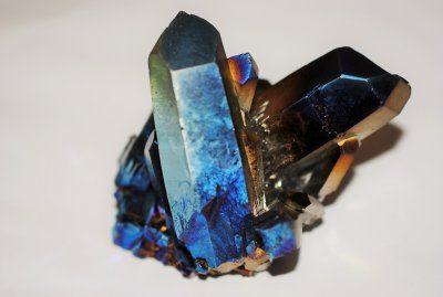 Aura, kobolt blå kluster 65x60mm