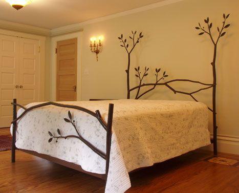 metal branch bed