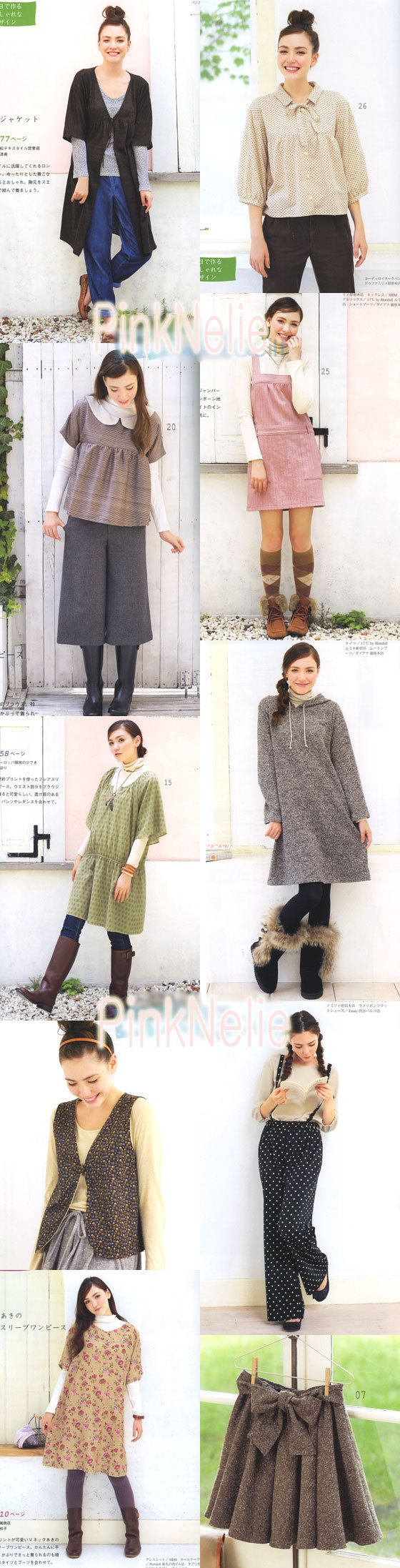 Every Day Wearing Dresses Making n3317 Japanese Craft di PinkNelie