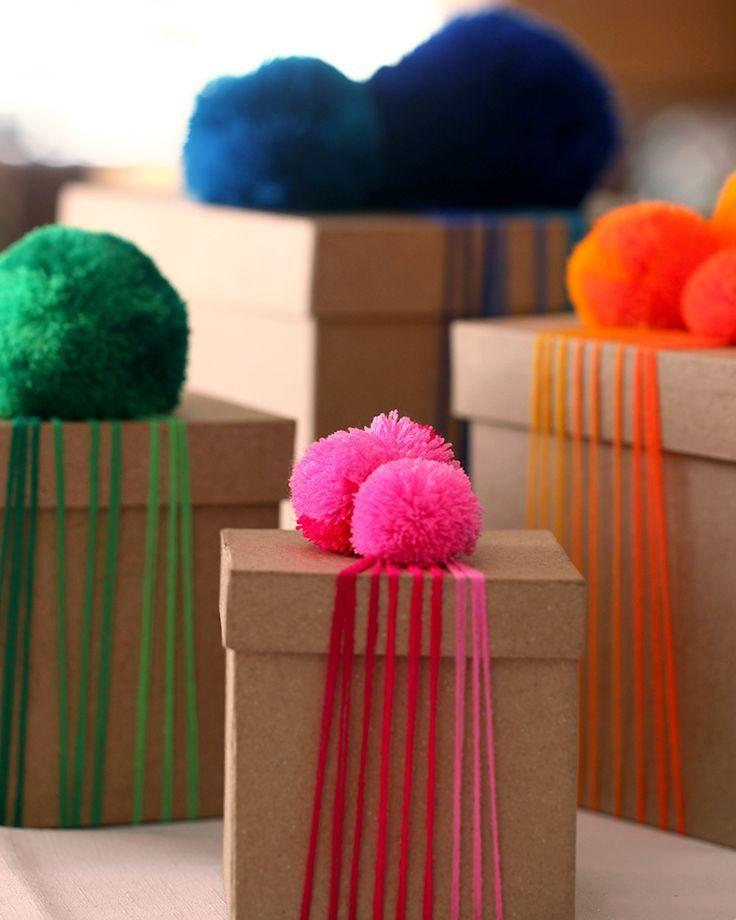 DIY Yarn Pom Poms
