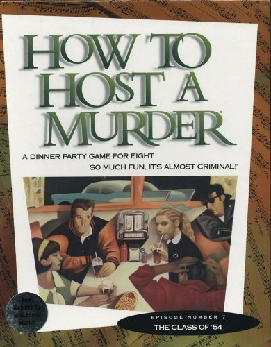 SOLD!!  NEW How to Host a Murder: The Class of '54 Adult Dinner Party Mystery Game for 8 | eBay