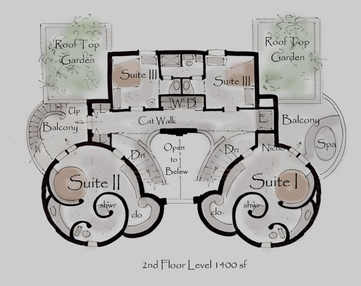 Castle Floor Plans Castle House Plan Kinan House Plans
