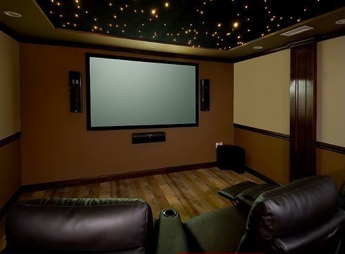 Contemporary Home Theater - Found on Zillow Digs. What do you think?