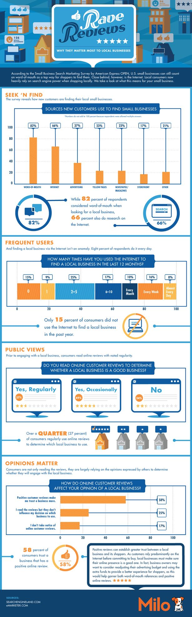 Online Reviews Impact Infographic